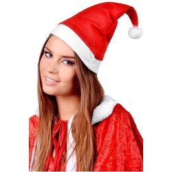 Czapka Świętego Mikołaja uniwersalny rozmiar dla każdego