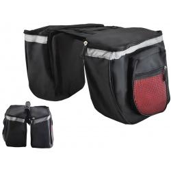 Torba na rower podwójna sakwa rowerowa na bagażnik lub ramę