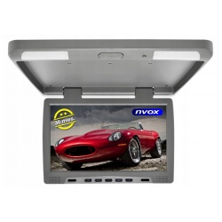 Monitor podsufitowy LED 15 cali HD Ready wejście VGA transmiter IR FM