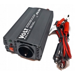 Przetwornica samochodowa z 12V/230V VOLT POLSKA moc 500/350W sinus modyfikowany