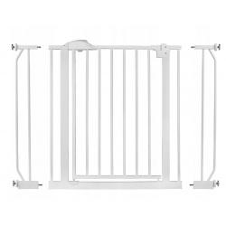 Bramka zabezpieczająca 75-105 cm barierka do futryny na schody i drzwi
