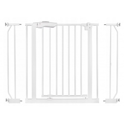 Bramka zabezpieczająca brama bezpieczeństwa 75 - 105 cm na schody i drzwi