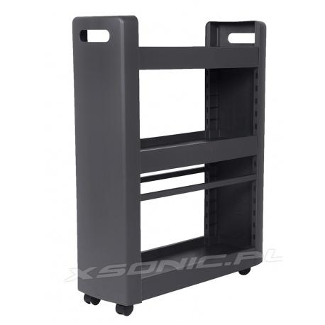 Dodatkowe półki organizer szafka na kółkach do kuchni lub łazienki