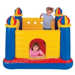 Trampolina dmuchana dla dzieci Zamek 175 x 175 x 135cm 48259 Intex