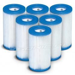 6 x Filtr typ A do pompy filtrującej INTEX 29000 (cały karton)