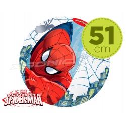 Dmuchana piłka plażowa Spiderman średnica 51 cm Bestway 98002