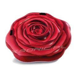 Materac plażowy Róża do pływania 137 x 132 cm INTEX 58783