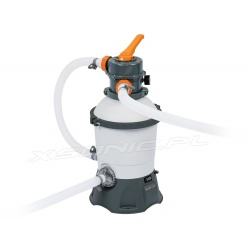 Pompa piaskowa do basenów ogrodowych 3028 litrów na godzinę Bestway 58515