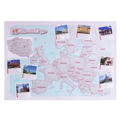 Mapa zdrapka dla dwojga kochających podróże ulepszona wersja