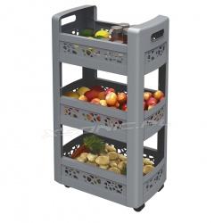 Dodatkowe półki szafka na kółkach organizer pod blat kuchenny