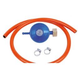 Wąż z reduktorem DIN do podłączenia butli gazowych 100 cm