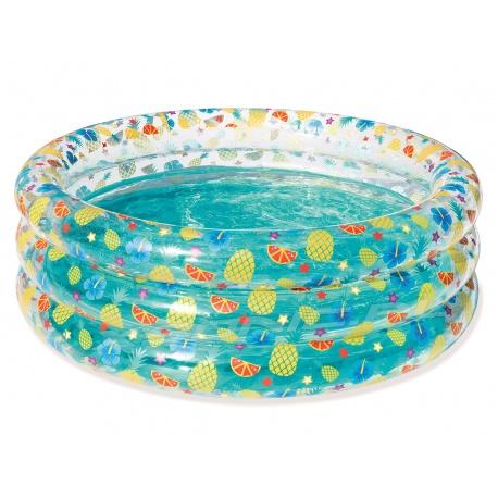 Basen dmuchany okrągły dla dzieci Owoce 150 x 53 cm Bestway 51045
