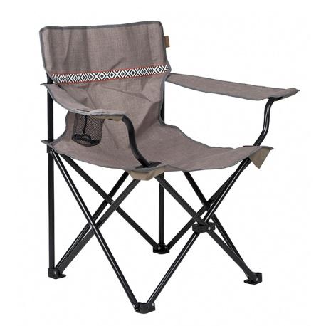 Krzesło wędkarskie kempingowe składane z oparciem Romford BO-CAMP