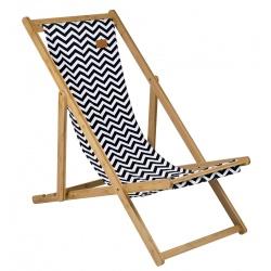 Leżak plażowy turystyczny mocny bambusowy składany SOHO BO-CAMP