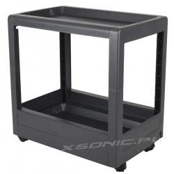 Stolik na kółkach kuchenny basenowy dodatkowe półki mobilna szafka nocna