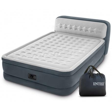 Łóżko dmuchane materac z pompką Ultra Plush Queen 236 x 152 x 46 cm INTEX 64448