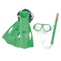 Maska płetwy rurka zestaw do nurkowania Freestyle Snorkel Bestway 25019