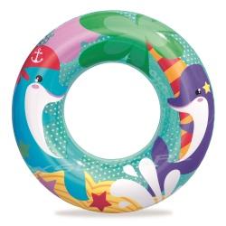 Koło plażowe do pływania Morskie Przygody dla dzieci Bestway 36113