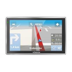 Nawigacja GPS Vordon 7 cali Mapa Polski i Europy 42 kraje pamięć 8GB dożywotnia aktualizacja gry i filmy