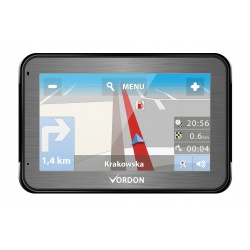 Nawigacja GPS VORDON 4,5 cala aluminiowa odtwarzacz filmów muzyki