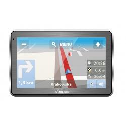 """Nawigacja GPS VORDON 7"""" mapy Europy aluminiowa odtwarzacz filmów muzyki"""