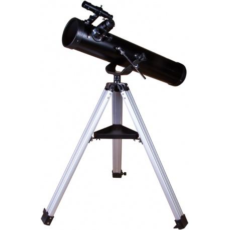 Teleskop Levenhuk Skyline BASE 80S teleskop zwierciadlany Newtona apertura 76 mm ogniskowa 700 mm