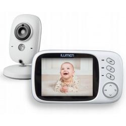 Niania elektroniczna video termometr dwukierunkowa kamera Ilumen Cam-S3