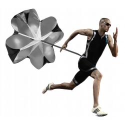 Spadochron oporowy na pasek do biegania i treningu szybkościowego