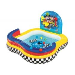 Brodzik basen plac zabaw Mickey z atrakcjami 157 x 157 x 91 cm Bestway 91015