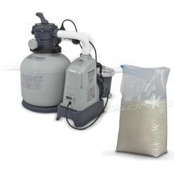 Pompa piaskowa z generatorem chloru 6000 l/h INTEX + 25kg piasku 28676