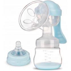 Laktator ręczny odciągacz do mleka butelka smoczek Bebi+ 0% BPA
