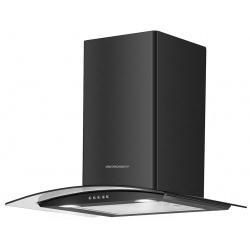 Okap kuchenny 60cm ścienny z oświetleniem LED BT-2012 czarny srebrny