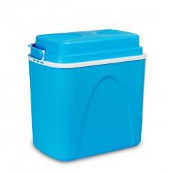 Turystyczna lodówka 22 litry samochodowa 12V przenośna niebieska