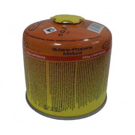 Kartusz z gazem 300 g pojemnik z gazem z zaworem nakręcany EliCoCamp