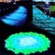 Kamienie świecące fluorescencyjne ozdobne kamyki 100 sztuk do wazonu
