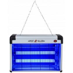 Lampa owadobójcza UV na komary ćmy muchy duża 20W stojąca wisząca