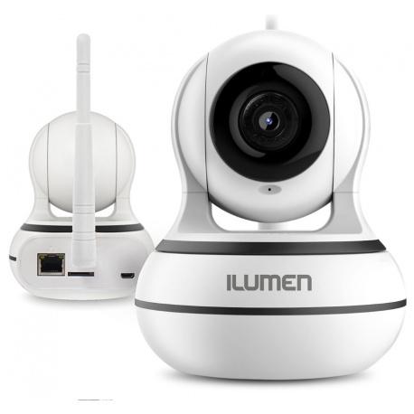 Kamera WiFi FULL HD 1080p niania elektroniczna Ilumen CAM-X4 monitoring głośnik mikrofon detekcja ruchu tryb nocny