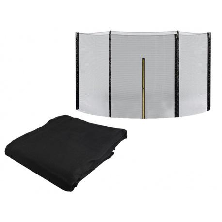 Siatka zewnętrzna 183cm 6ft na 6 słupków ochronna do trampoliny ogrodowej
