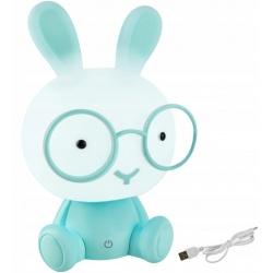 Lampka nocna dla dzieci królik wysokości 30cm 3 tryby jasności LED