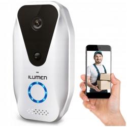 Dzwonek bezprzewodowy kamerka z podglądem na smartfon Ilumen WiFi