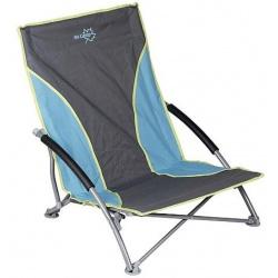 Krzesło turystyczne kempingowe składane leżak fotel podłokietniki BO-CAMP
