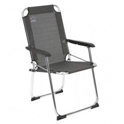Mocne składane krzesło turystyczne z oparciem Bo-Camp Copa Rio Deluxe