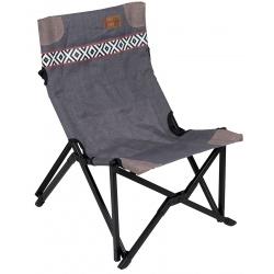 Składane krzesło turystyczne kempingowe bardzo wygodne Brooklyn BO-CAMP