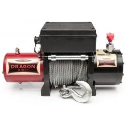 Wyciągarka samochodowa z liną stalową samochody terenowe samochody użytkowe DRAGON WINCH MAVERICK o mocy 8000 LBS uciąg 3629 kg