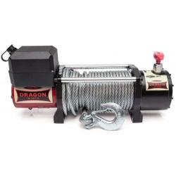Wyciągarka samochodowa z liną stalową samochody terenowe samochody użytkowe DRAGON WINCH MAVERICK o mocy 10000 LBS uciąg 4536 kg