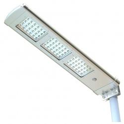 Solarna lampa uliczna LED z czujnikiem ruchu panel słoneczny ogrodowa oświetlenie alejki 3000 lm LEDx72 Power Need SSL03
