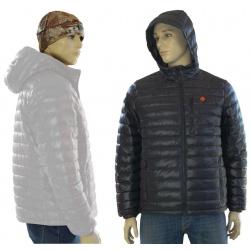 Ogrzewana kurtka męska grzejąca szara lub czarna L/XL GTMBG GLOVii