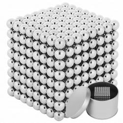 Kulki magnetyczne 512 sztuk 5mm NeoCube magnesy neodymowe pudełko