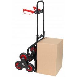 Wózek transportowy młynarka schodowy 6 kołowa obciążenie 200kg