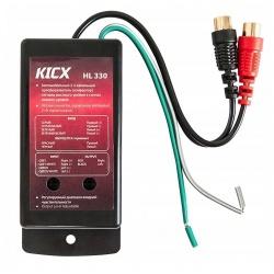 2-kanałowy konwerter sygnału HI LOW marki Kicx HL 330